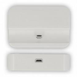 Dock Station d'Accueil Charge MicroUSB Blanc Pour Galaxy Ace Plus S7500