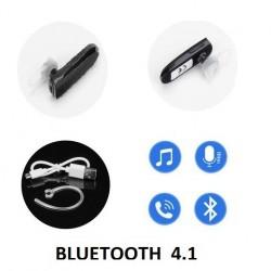 Oreillette Bluetooth 4.1 Pour Wiko Lenny 4 et Lenny 4 Plus