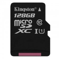 Carte Mémoire Kingston 128 GO Classe 10 Pour Sony Xperia XZ