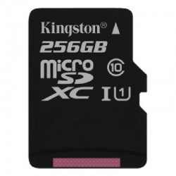 Carte Memoire Kingston 256 GO Classe 10 Pour Samsung Galaxy A7 (2018)